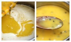 2013-09-01 Passionfruit CURD - Sesame NOODLES
