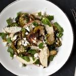 Bruksel lahanali, elmali salata
