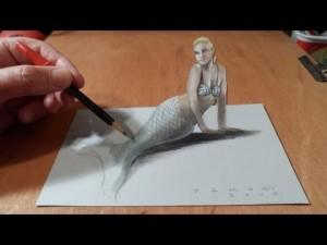 3D Mermaid - Deniz Kızı